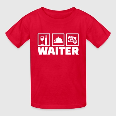 Waiter - Kids' T-Shirt