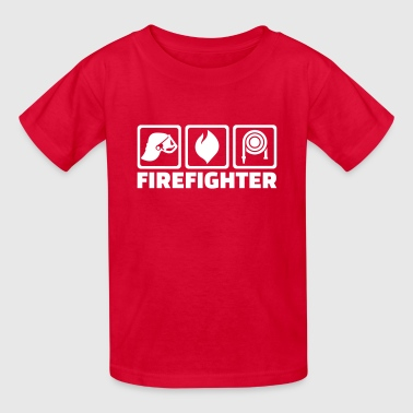 Firefighter Kids Firefighter - Kids' T-Shirt