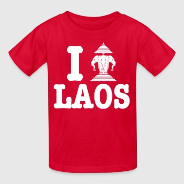 I Erawan (Love) Laos - Kids' T-Shirt