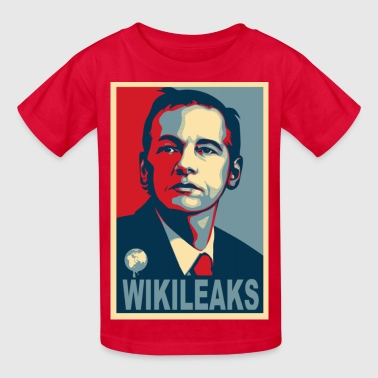Assange Wikileaks - Kids' T-Shirt