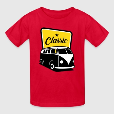 Vintage Classic Van Sign - Kids' T-Shirt