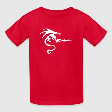 The Print Dragon Dragon VECTOR - Kids' T-Shirt