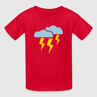 Thunderstorm - Kids' T-Shirt