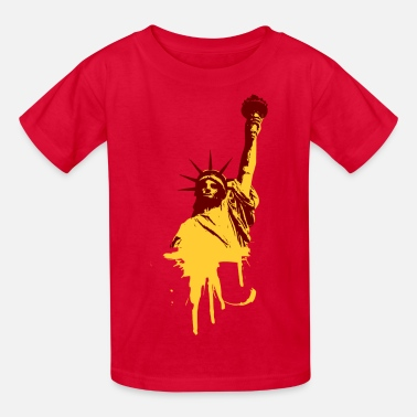 The Statue Of Liberty Statue of Liberty - Kids' T-Shirt