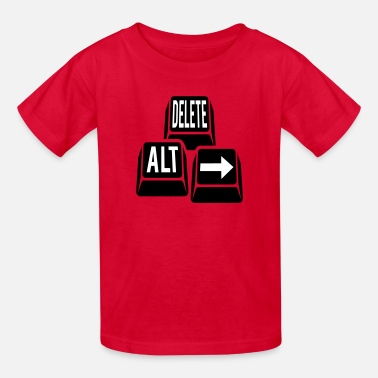 Anti-confederate Delete Alt Right Keys - Kids' T-Shirt