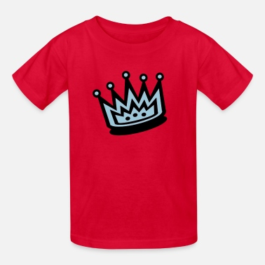 5 Point 2-Color, 5-Point Crown - Kids' T-Shirt