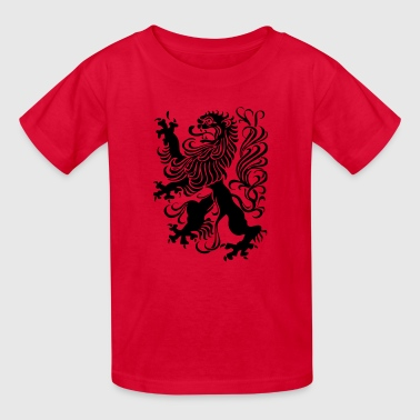 royal lion design - Kids' T-Shirt