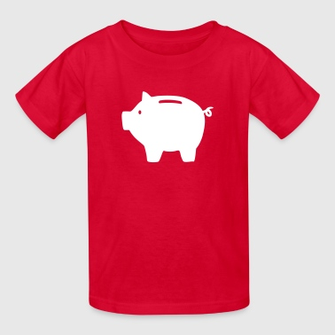 Piggy bank - Kids' T-Shirt