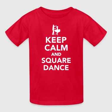 Square dance - Kids' T-Shirt