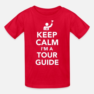 Tour Guide Tour guide - Kids' T-Shirt