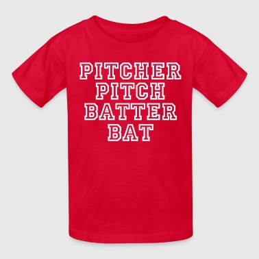 Baseball Pitcher - Kids' T-Shirt