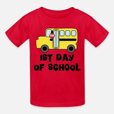 Back In The Day Back to School 1st Day - Kids' T-Shirt