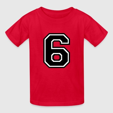 Number 6 Six - Kids' T-Shirt
