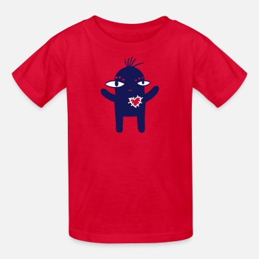 Hug Monster Cute Hugging Monster - Kids' T-Shirt