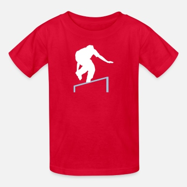 Roller Skating skating rail - Kids' T-Shirt