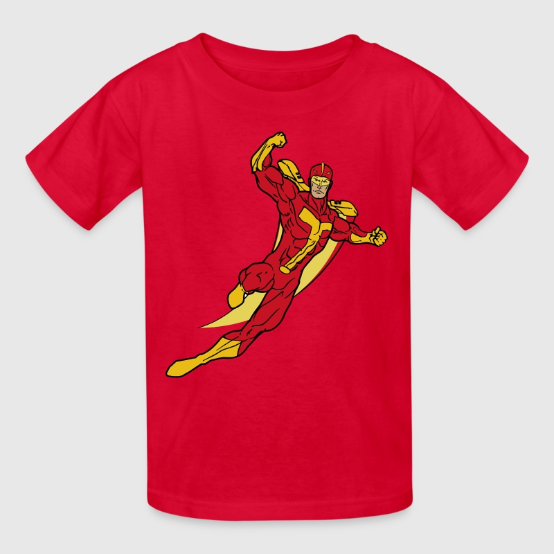 Turbo Man - Kids' T-Shirt