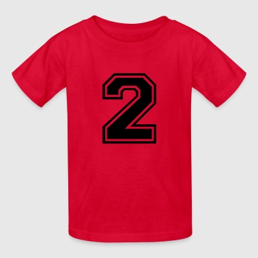 Number 2 Two Number 2 Two - Kids' T-Shirt