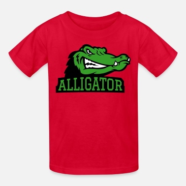 Angry Angry Alligator Logo - Kids' T-Shirt