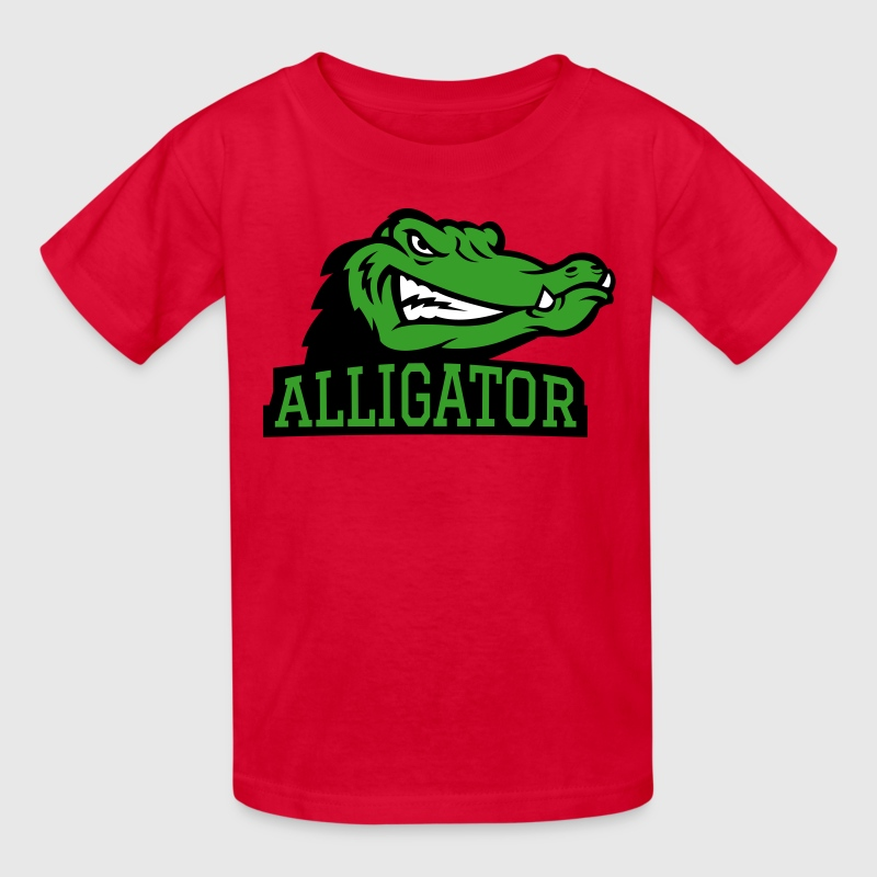 Angry Alligator Logo By Azza1070 Spreadshirt