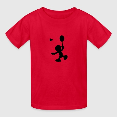 Badminton Logo badminton - Kids' T-Shirt