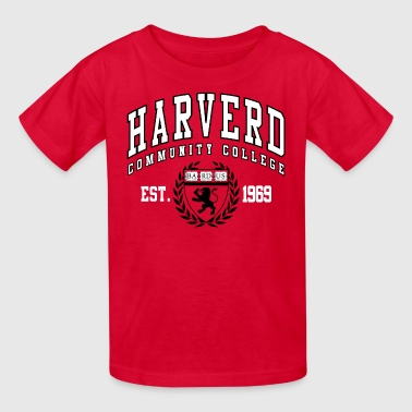 Joke Shirt: Harverd Community College(MIsspelled) - Kids' T-Shirt