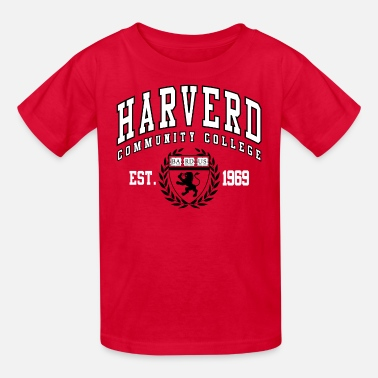 Community College Joke Shirt: Harverd Community College(MIsspelled) - Kids' T-Shirt