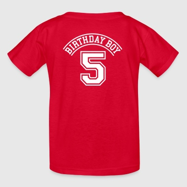 Birthday boy 5 years - Kids' T-Shirt