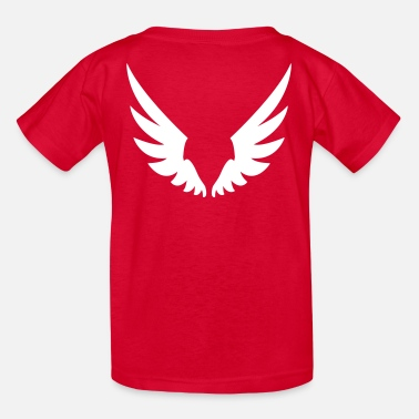 Angel's Wings Wings, Angel wings - Kids' T-Shirt