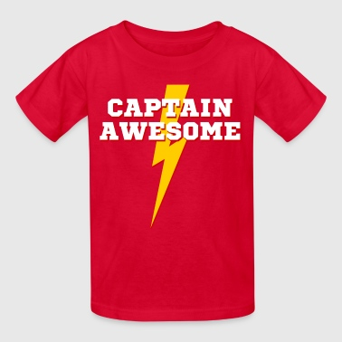 captain_awesome - Kids' T-Shirt