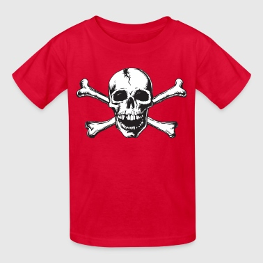 Skull and Bones - Kids' T-Shirt