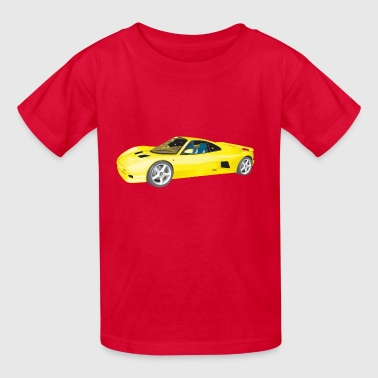 Ascari Car Illustration - Kids' T-Shirt
