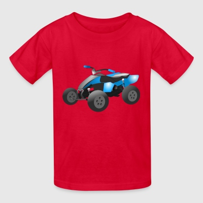 motocross motorcycles athlete sport motorrad6 - Kids' T-Shirt