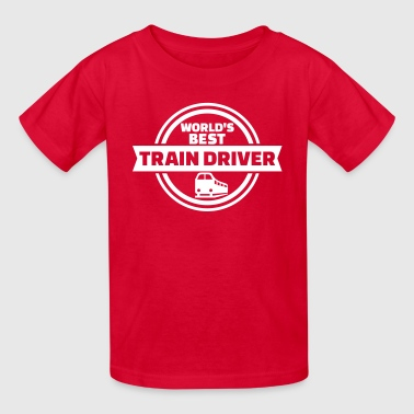 Train driver - Kids' T-Shirt