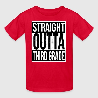 Straight Outta Third Grade - Kids' T-Shirt