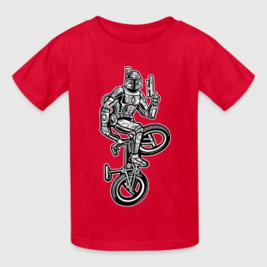 Boba Fett BMX Bike - Kids' T-Shirt