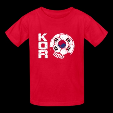 Soccer Ball 2018 South Korea - Kids' T-Shirt