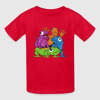 Lizards - Kids' T-Shirt