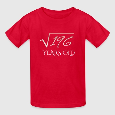 square root of 196 shirt - 14 years old - Kids' T-Shirt