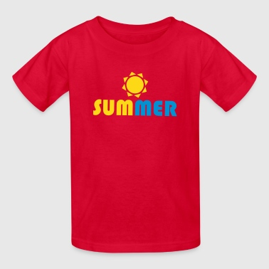 SUMMER Sun - Kids' T-Shirt