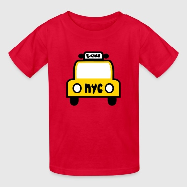 Taxi Cab NYC Retro - Kids' T-Shirt