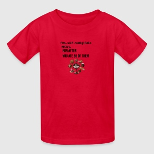 Fun size candy bars - Kids' T-Shirt