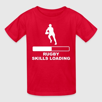 Rugby Skills Loading - Kids' T-Shirt