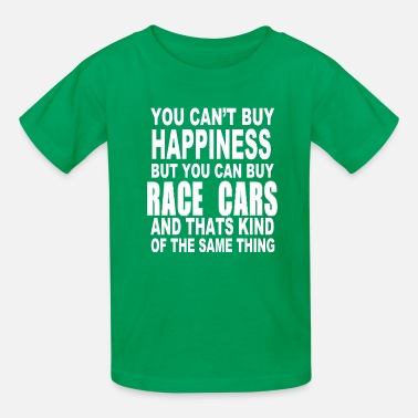 Race car happiness - Kids' T-Shirt