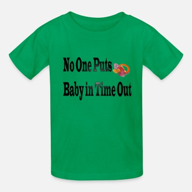 Time Out Baby in Time Out - Kids' T-Shirt