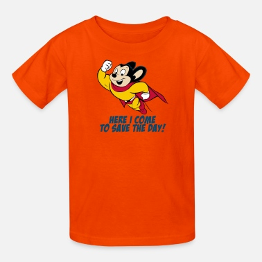 Mouse Mighty Mouse I Come Save The Day - Kids' T-Shirt
