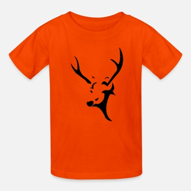 Deer Head deer head - Kids' T-Shirt