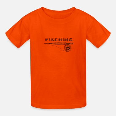 Fishing Rod fishing rod - Kids' T-Shirt