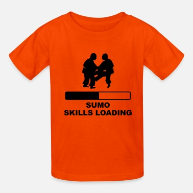 Sumo Skills Loading - Kids' T-Shirt