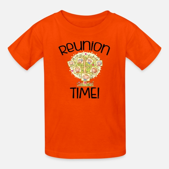 ae786128a Family Reunion T-Shirts - Family Reunion Time - Kids' T-Shirt orange