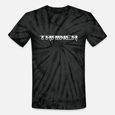 Wicked Dano Trainer Design - Unisex Tie Dye T-Shirt